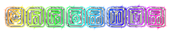 Font Rubber Hell Chromium Logo Preview
