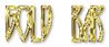 Font Runy-Tunes Gold Bar Logo Preview