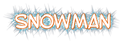 Font SF Toontime Snowman Logo Preview