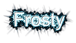 Font Simplified Arabic Frosty Logo Preview