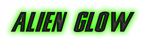 Font Snickers Alien Glow Logo Preview