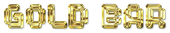 Font Spaceboy Gold Bar Logo Preview