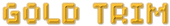 Font Spaceboy Gold Trim Logo Preview