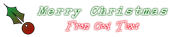 Font Splendid 66 Christmas Symbol Logo Preview