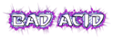 Font Starcraft Bad Acid Logo Preview