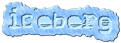 Font Stock Quote Iceberg Logo Preview