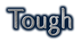 Font Tenderness Tough Logo Preview