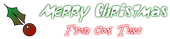 Font Toontime Christmas Symbol Logo Preview