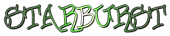 Font Urban Scrawl Starburst Logo Preview