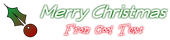 Font Veggieburger Christmas Symbol Logo Preview