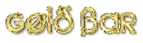 Font Xenophone Gold Bar Logo Preview