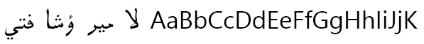 Pak Type Tehreer Font