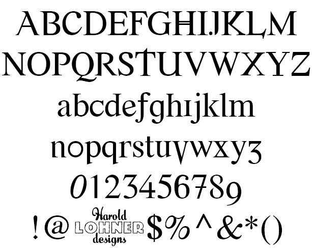 Font Error Example