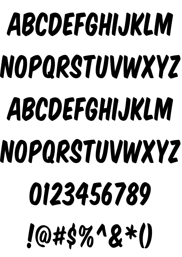 Komika Title Example