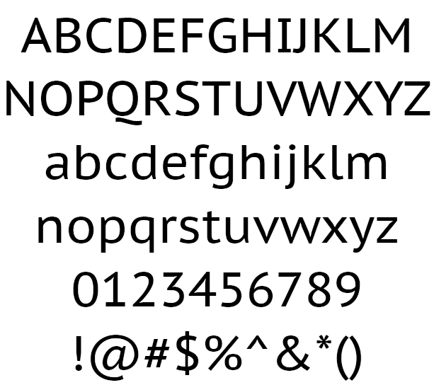 PT Sans Example