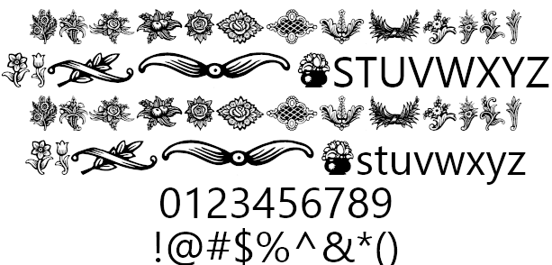 Schluss-Vignetten Example