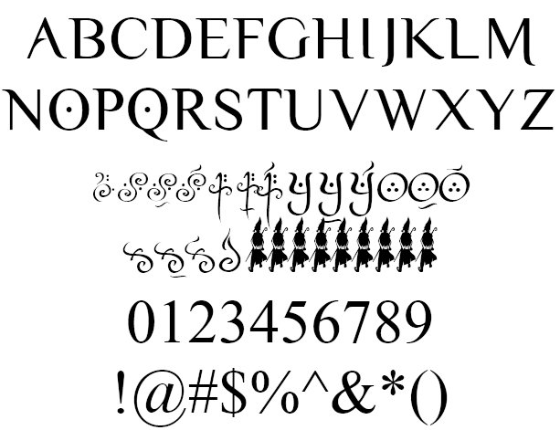 Download Yellow Magician Font