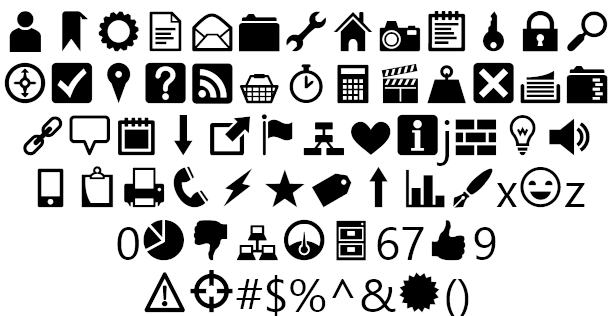 Heydings Icons Example