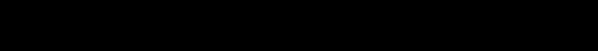 粗圓體一雙空 WCL 09 Example