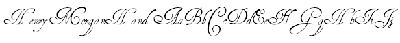 HenryMorganHand Example