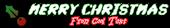 Font A Ticket Christmas Symbol Logo Preview