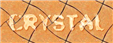 Font A Ticket Crystal Logo Preview