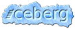 Font AddShade Iceberg Logo Preview