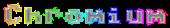 Font Adore64 Chromium Logo Preview