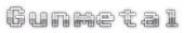 Font Adore64 Gunmetal Logo Preview