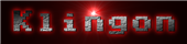 Font Adore64 Klingon Logo Preview