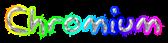 Font Akbar Chromium Logo Preview