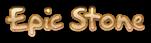 Font Akbar Epic Stone Logo Preview