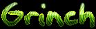 Font Akbar Grinch Logo Preview