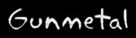 Font Akbar Gunmetal Logo Preview