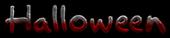 Font Akbar Halloween Logo Preview