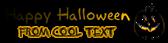 Font Akbar Halloween Symbol Logo Preview