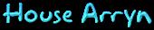 Font Akbar House Arryn Logo Preview