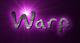 Font Akbar Warp Logo Preview
