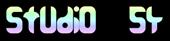 Font Amina Studio 54 Logo Preview