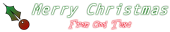 Font Andale Mono Christmas Symbol Logo Preview