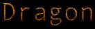 Font Andale Mono Dragon Logo Preview