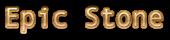 Font Andale Mono Epic Stone Logo Preview