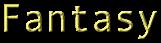 Font Andale Mono Fantasy Logo Preview