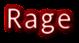 Font Andale Mono Rage Logo Preview