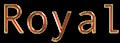 Font Andale Mono Royal Logo Preview