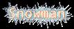 Font Andale Mono Snowman Logo Preview