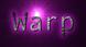 Font Andale Mono Warp Logo Preview