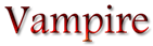 Font Andalus Vampire Logo Preview