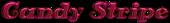 Font Antsy Pants Candy Stripe Logo Preview