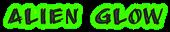 Font AnuDaw Alien Glow Logo Preview